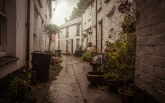Bank Cottages (David Haughton) Tags: penryn cornwall cottages cottage opeway ope terrace cornish houses granite