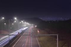 IMG_8066 (Adam Becvar) Tags: cityatnight cityscape nightcityscape night highway highwayatnight lights lighttrails city brno czechrepublic nightstreet nightscape