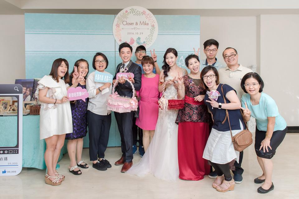 台南婚攝 婚禮紀錄 情定婚宴城堡 C & M 175