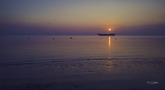 Sunrise on Meghna River (Shahriar (Phone Clicker :P)) Tags: mobilography camping campsite meghna araihazar