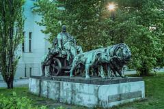 Lions at Wiener Secession Art Gallery Vienna Austria (mbell1975) Tags: lions wiener secession art gallery vienna austria statue sculpture