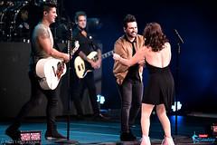 Nancy Kerrigan with Dan + Shay
