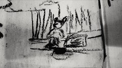The Mouse (Luis Piedras) Tags: art arte draw dibujo cartoon caricatura charcoal carboncillo unemployed