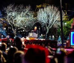 2016.12.01 Christmas Tree Lighting Ceremony, White House, Washington, DC USA 09320-2
