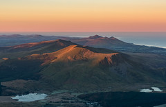 'Early Light On the Ridge' - Snowdonia (Kristofer Williams) Tags: snowdonia snowdon nantlleridge sunrise landscape mountains frost ice valleys wales eryri