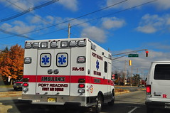 Port Reading First Aid Squad Ambulance FA-15 (Triborough) Tags: nj newjersey middlesexcounty edison prfas portreadingfirstaidsquad ems ambulance ford eseries e350