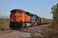RTR Empty With Color (Matt_Schimmel) Tags: bnsf burlingtonnorthernsantafe emd sd70ace cefx ac4400 ge coal train hannibalsub kline ucex ameren