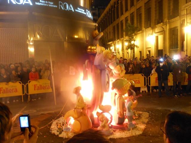 ファジャスバレンシア火祭り
