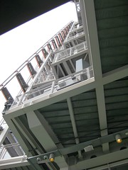 Open deck details of Shard #4 (streetr's_flickr) Tags: theshardoflondon highrise panorama tallbuildings structures architecture london city