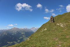 Steinerne Wegweiser (uwelino) Tags: italien italy alps alpen adventure alm altoadige passeiertal hhenweg europa europe wandern sdtirol trentino 2016 sommer steinpyramide wegweiser tirol meran spectacularlandscape