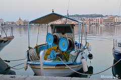 Fishing Boat 2 (VSoultanis Photography) Tags: fishingboat fishing nets lesvos mytilene port waterfront sea lesvosisland harbour visitlesvos travelgreece wugreece greece hellas greekislands nikon nikondslr nikonphotography nikontop nikonearth nikond5100 rope