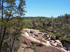 Macintyre Falls (Kaptain Kobold) Tags: kaptainkobold falls waterfall kwiambal nsw australia nationalpark scenery landscape water river rocks green trees