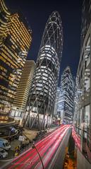 Tour D2 by night (DymFilms) Tags: tour d2 night skyscraper lights stream la defense paris france europe urban hdr canon eos 6d dri raw 1116mm tokina