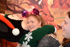 Aniaml Kingdom (Elysia in Wonderland) Tags: elysia florida orlando disney world 2016 holiday animal kingdom meeting meet greet character mickey minnie mouse christmas festive jumpers adventure outpost lucy hug