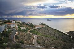 (400/16) Tormenta II (Pablo Arias) Tags: pabloarias photoshop nxd cielo nubes texturas arquitectura españa tormenta mar agua mediterráneo benidorm alicante comunidadvalenciana