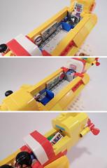 9-LEGO Ideas 21306 - Yellow Submarine_inside (Sweeney Todd, the Lego) Tags: lego ringo john paul george beatles the submarine yellow minifigure minifigures accessories box review photography