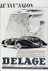 Delage D8-120 Letourneur & Marchand (1937) (andreboeni) Tags: classic car automobile cars automobiles voitures autos automobili classique voiture retro auto oldtimer klassik classico classica publicity advert advertissement delage d8 120 d8120 letourneur marchand