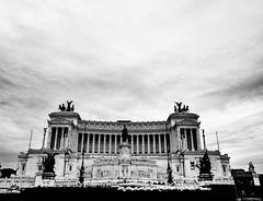 Rome is Rome (alessandrochiolo) Tags: biancoenero bw 16300 tamron16300 tamron d3300 nikkor nikon itlaly piazzavenezia altaredellapatria vittoriale citteterna arte caputmundi rome roma