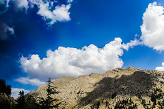 Removed from expectations (Melissa Maples) Tags: blue summer mountain clouds turkey nikon asia trkiye nikkor vr afs  18200mm  f3556g  18200mmf3556g d5100 yarpuz