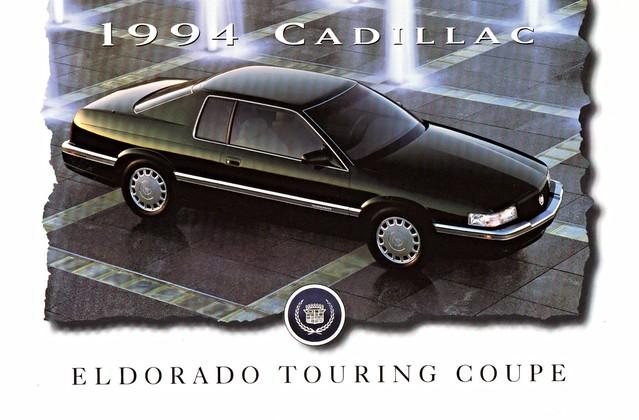postcard cadillac eldorado 1994 coupe touring