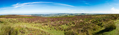 Dunkery Hill - Panoramic - 52.8MP (myfrozenlife) Tags: england canon landscape pano somerset panoramic devon 7d exmoor dunkeryhill