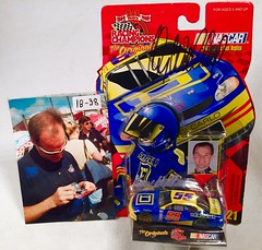 #18-38, Kenny Wallace, Signing, Racing Champions, 1999, Square D, #55, Winston Cup, (Picture Proof Autographs) Tags: auto classic cars scale car sign real toy toys photo model automobile image display models picture images collection vehicles photographs photograph collections nascar displays 164 vehicle driver proof session autoracing autos collectible collectors signing automobiles collectibles authentic sessions collector drivers genuine diecast winstoncup carded buschseries inperson 164th photoproof authenticated blisterpacks pictureproof
