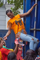 Notting Hill Carnival 2015 (paulinuk99999 (really busy at present)) Tags: carnival party holiday west london rain fun hill bank august 31 notting 2015 paulinuk99999 sal70400g