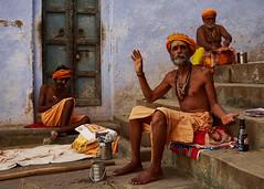Varanasi (Jakub Jerabek) Tags: street old city travel india water river ancient fuji streetphotography s holy varanasi shiva kashi ganga shiv sadhu ganges banaras benares uttarpradesh fujix fujix100s x100s