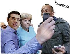 SELFIE (edoardo.baraldi) Tags: grecia merkel schaeuble syriza tsipras varoufakis elezionigrecia votogrecia