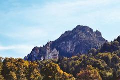 Neuschwanstein castle, Bavaria, Germany (chiriacgeorgegabriel) Tags: film analog 35mm iso100 nikon kodak 100 f80 ektar filmphotography