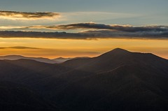 Frying Pan sunset (Bradley Nash Burgess) Tags: sunset mountains landscape nc nikon northcarolina blueridgeparkway pisgah d7000 nikond7000