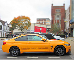2015 M 4 series Coupe -BMW  ( exact model ? ) (John(cardwellpix)) Tags: uk october side 4 profile surrey hose m bmw series monday guildford coupe 19th 2015