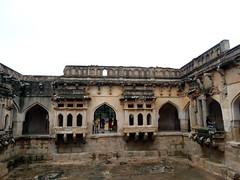 Vitthala Temple -Queens Bath - Hampi World Heritage Complex   (4) (pensivelaw1) Tags: india hampi queensbath vitthalatemple hampiworldheritagecomplex