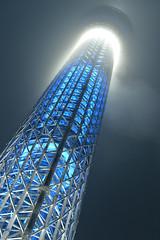 DSC_0661 (Zengame) Tags: tower japan architecture night tokyo nikon df illumination landmark illuminated jp   nikkor iki      skytree   tokyoskytree  afs58mmf14g afsnikkor58mmf14g