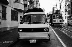 San Francisco (TheJeremyNix) Tags: life california travel usa vw blackwhite roadtrips westfalia vanlife