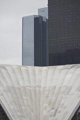 Building - La Défense, Paris. (annelaurem) Tags: paris france building architecture raw exterior ladéfense