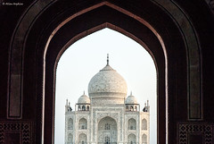 Taj Mahal - view from Darwaza