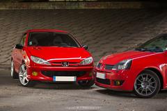 Peugeot 206 RC vs Clio 2 RS Trophy (JDPhotoIDF) Tags: uk 2 sport canon eos 206 clio renault f 200 l trophy 28 70 rs rc 70200 f28 peugeot 28l 6d 70200mm 200mm 70mm 70200l f28l rs3 rs182 eos6d 2rs 2rs3