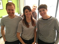 Stripey triplets.