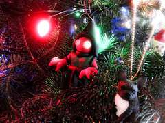 Flatwoods Monster (Tom Bagley) Tags: christmas tree calgary weird alien eerie creepy ornament alberta cryptozoology cryptid tombagley flatwoodsmonster