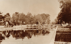 Canal, Portage Locks at Flood, 10-11-1911