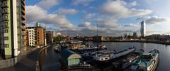 Autumn on the Wharf 13th Nov (34 of 37) (johnlinford) Tags: autumn blackwallbasin canon canonefs1022 canoneos7d docklands e14 landscape london panorama towerhamlets urban urbanautumn