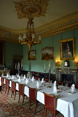 To Dinner (dhcomet) Tags: wimpole hall national trust stately home cambs cambridgeshire grand dining room table placesettings