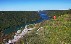 Limski_kanal01 (Vid Pogacnik) Tags: hrvaška croatia istra istria limskizaljev limfjord limskikanal lim bay sea panorama archeology ancientsettlement gradine histri outdoor