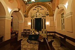 Split Synagogue (Herculeus.) Tags: 2016 aug buildings jewish med16 schulkanaruch split synagogues indoor 5photosaday