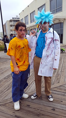 20161001_161119 (Lindeeto1287) Tags: asbury park zombie walk 2016 rick morty