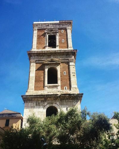 Il Campanile di Santa Chiara, Napoli