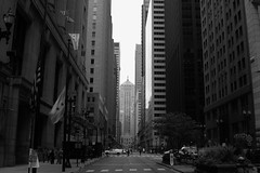 Chasing Nickels and Dimes (_rebelrouser_) Tags: chicago openhousechicago architecture blackandwhite monochrome city downtown symmetrical