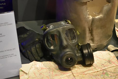 S6 Respirator (Bri_J) Tags: iwmduxford cambridgeshire uk iwm duxford airmuseum aviationmuseum nikon d7200 imperialwarmuseum s6 respirator gasmask britisharmy