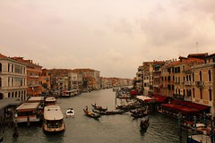 Venice (Subhash R) Tags: venice canal boat italy gondolier view from rialto bridge